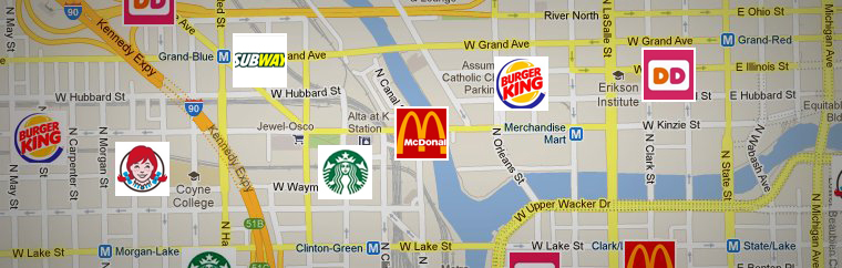 Top Fast Food Chains in the U.S.
