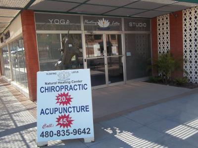 Floating Lotus Yoga Studio Natural Healing Center Mesa Az