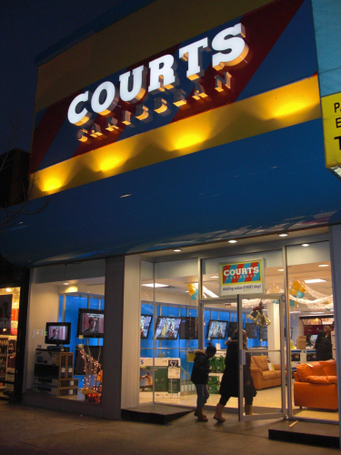 COURTS - Furniture, Electronics, Appliances & Delivery to the Caribbean