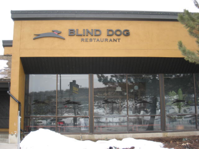 blind dog park city