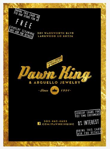 Pawn king pawn shop englewood co 80110 for Ez money pawn jewelry