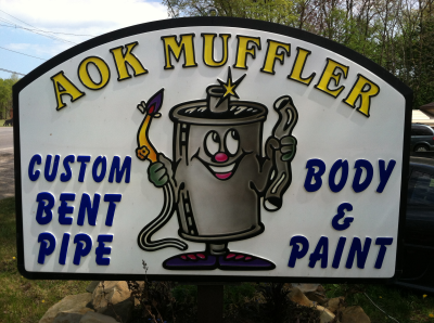 Muffler Repair Shop Elyria