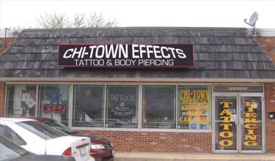 Chi Town Effects Tattoo